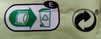 Pistachos tostados sin sal añadida - Instrucciones de reciclaje y/o información de embalaje - es