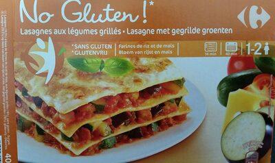 Lasagnes aux légumes grillés sans gluten - Product - fr