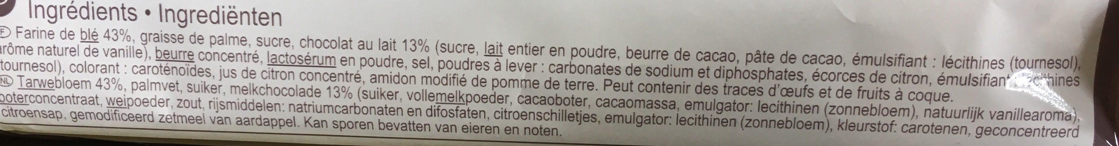 Spritz - Ingrediënten - fr