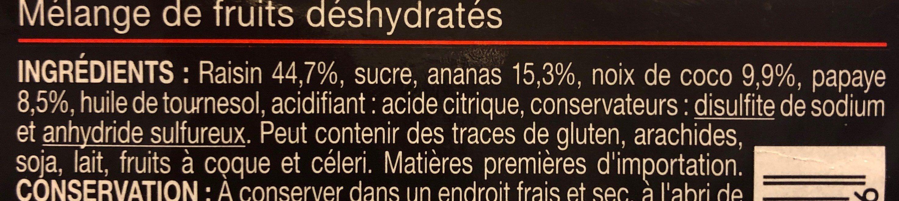 Melange exotique - Ingredienti - fr
