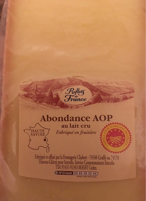 Abondance AOP - Product