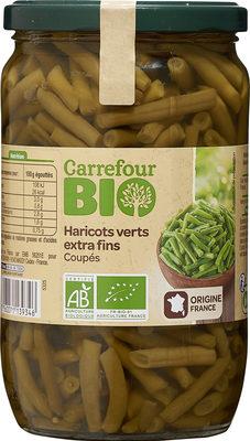 Haricots verts extra fins coupes - Produit