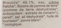 Purée  aux brocolis - Ingrédients - fr