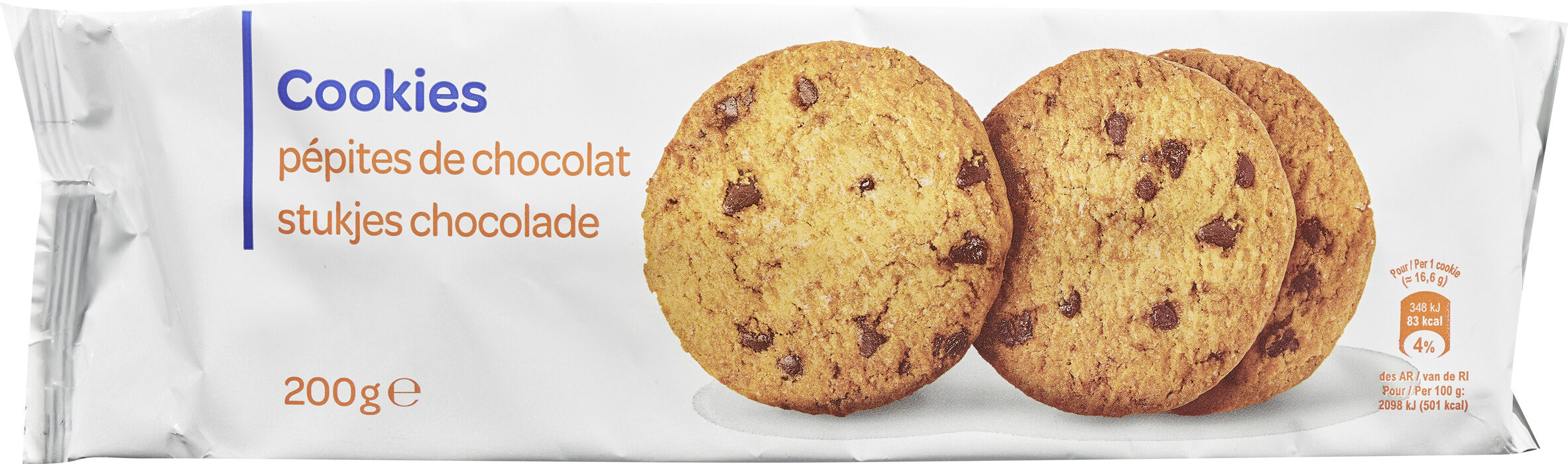 Cookies pepites de chocolat - Prodotto - fr