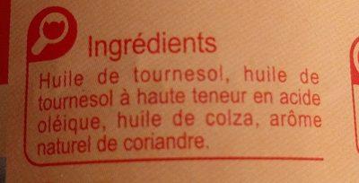 Huile végétaleSpéciale Friture - Ingredienti - fr