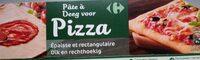 Pâte à pizza - Producto - es