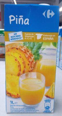 Zumo piña Carrefour - Product - es