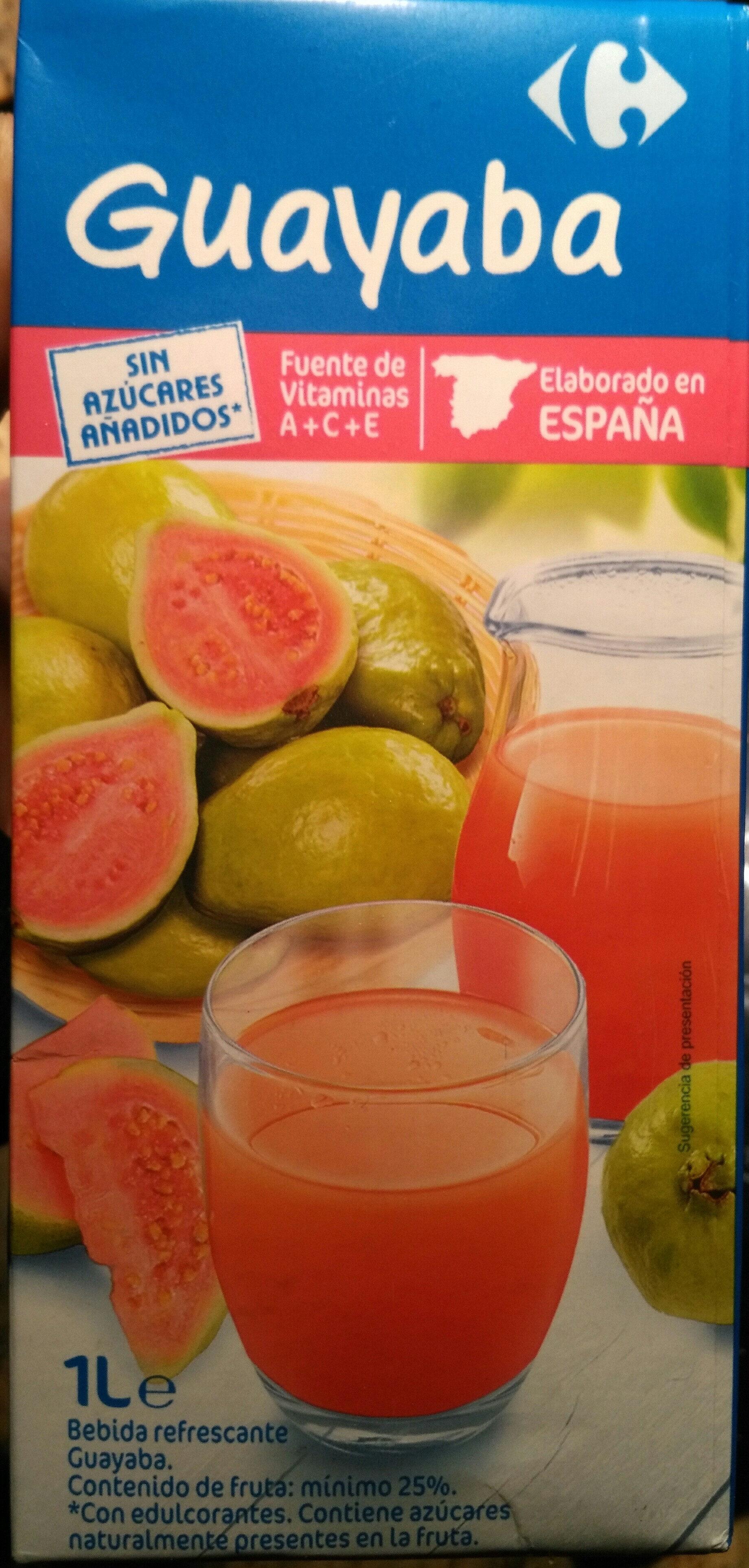 Bebida refrescante de puré de guayaba - Producto