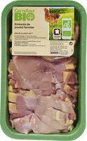 Emincés de poulet fermier - Produit - fr