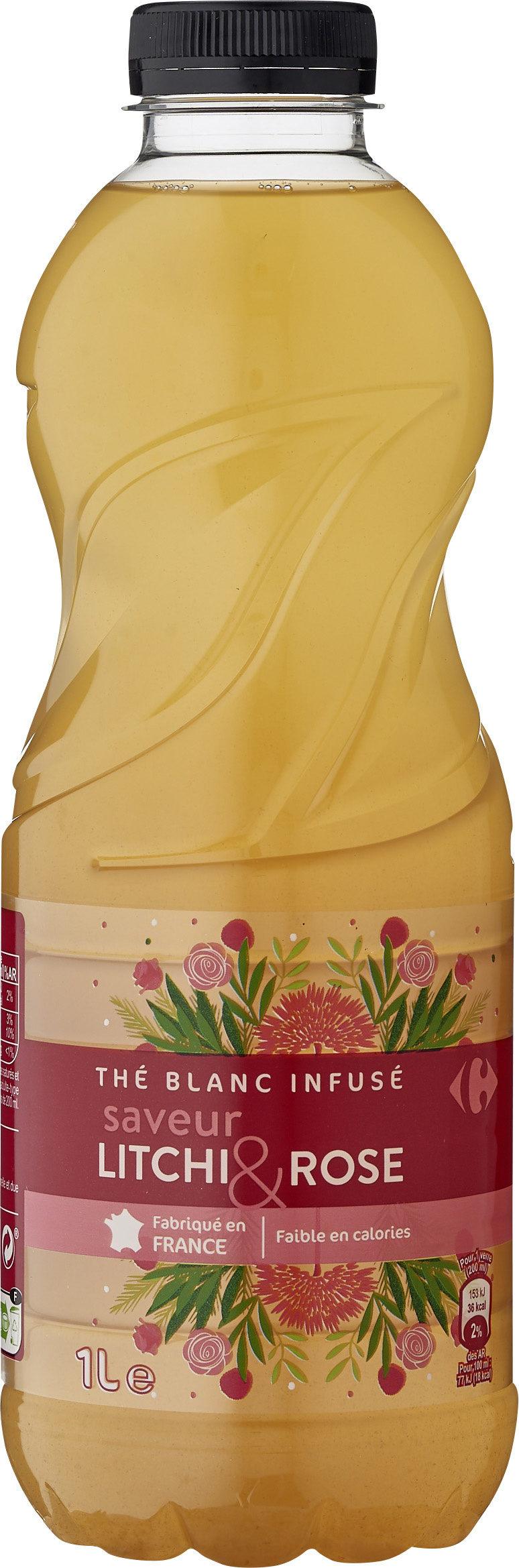 The blanc infuse saveur litchi & rose - Produit