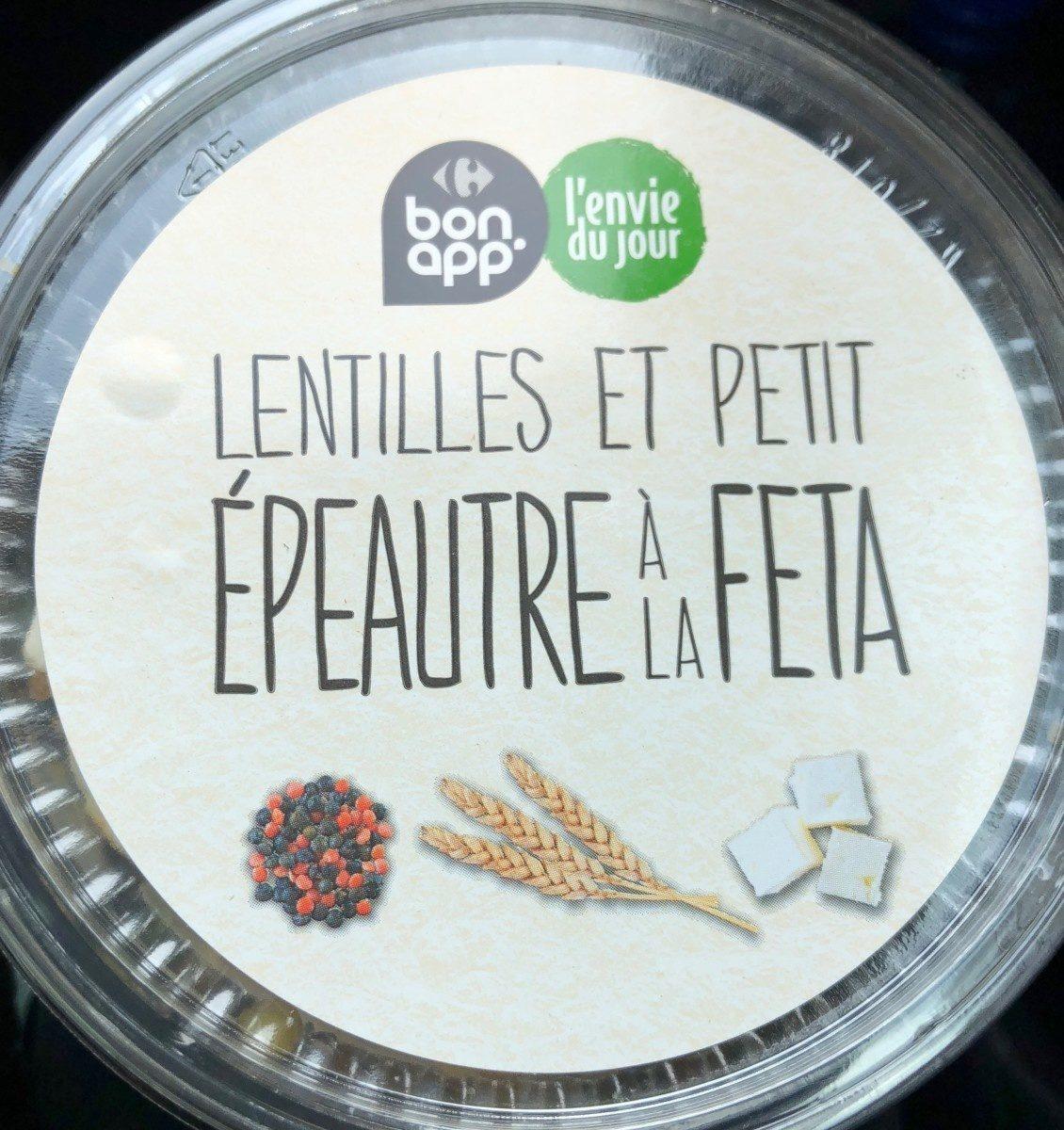 Lentilles et petit epeautre a la feta - Product