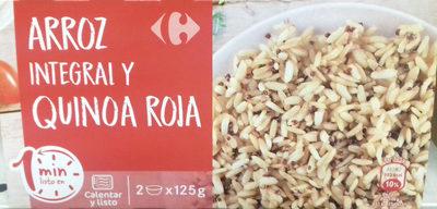 Arroz integral y quinoa roja - Produit
