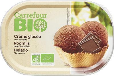 Crème glacée au chocolat - Producte - fr