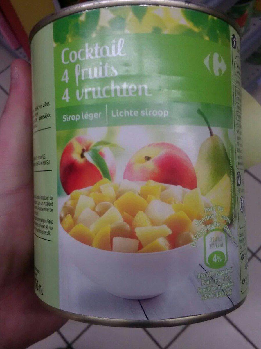 Cocktail 4 fruits - Produit - fr