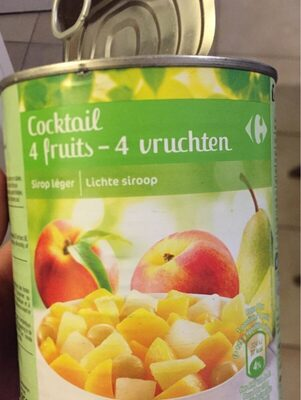 Cocktail 4 fruits - Informations nutritionnelles