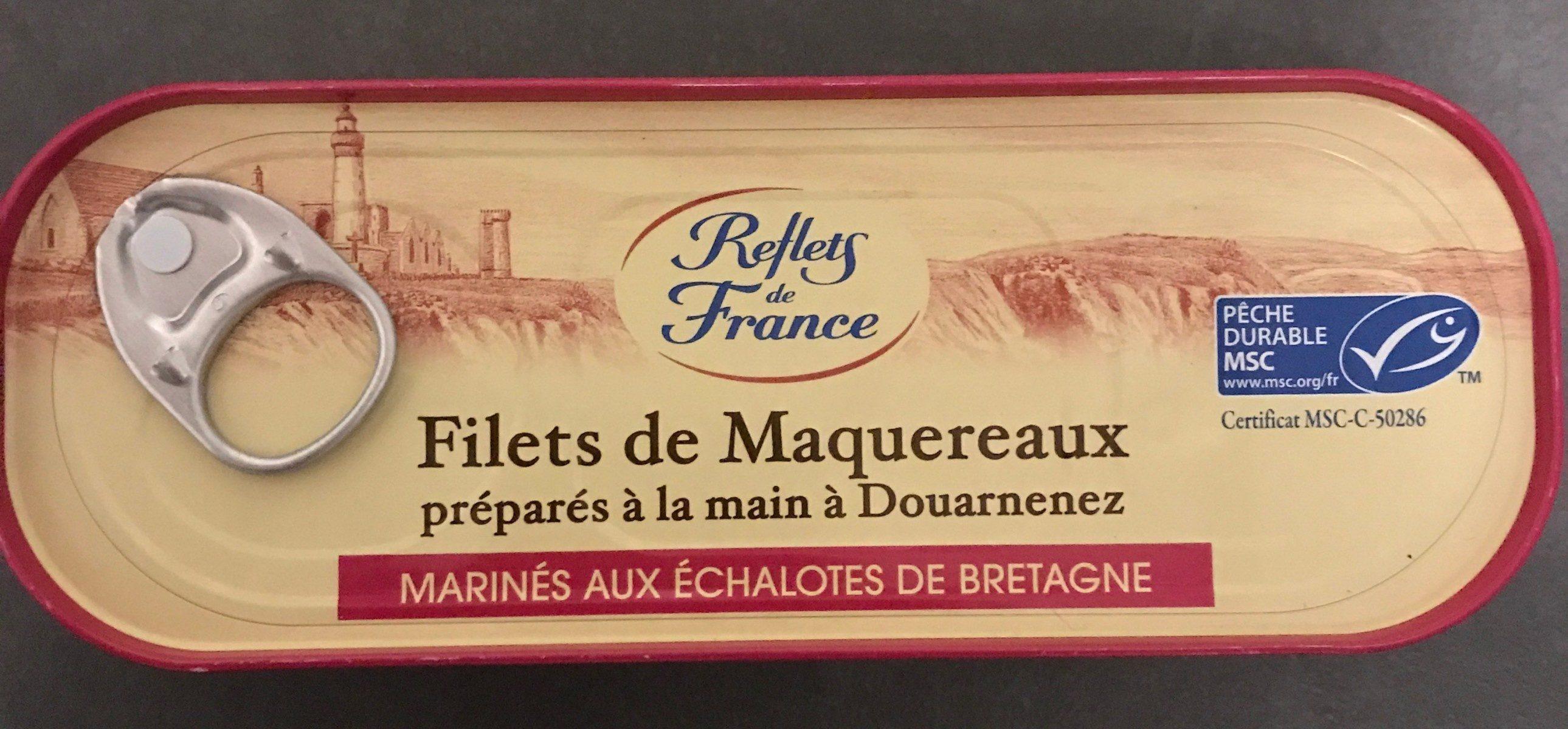 filets de maquereaux marinés aux échalotes - Product