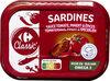 Sardines à la sauce tomate, piment et épices - Prodotto