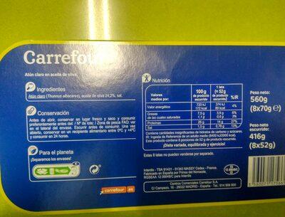 Atún claro en aceite de oliva - 6