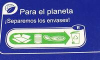 Atún claro en aceite de oliva - Instrucciones de reciclaje y/o información de embalaje - es