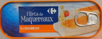 Filets de maquereaux à l'escabèche - Produit - fr