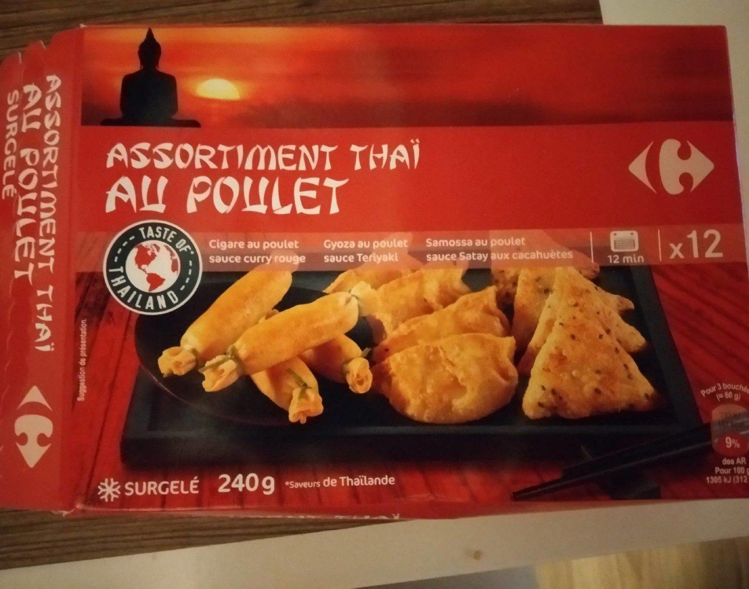 Assortiment thaï au poulet - Producto - fr