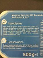 Margarita light - Ingredients
