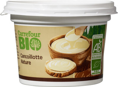 Cancoillotte nature carrefour bio - Product - fr