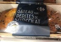 Le gateau aux pepites de chocolat - Produit - fr