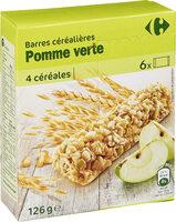 Barres céréalières Pomme Verte - Produit - fr