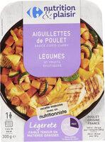 Aiguillettes de poulet sauce coco curry - Product - fr