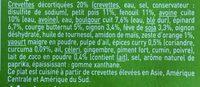 Crevettes Légumes et duo Avoine Boulgour - Ingredients - fr