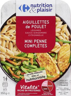 Aiguillettes de Poulet / Mini Penne Complètes - Product - fr