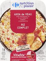 Nurition et plaisir - Axoa de veau aux poivrons et à la tomate piment d'espelette - Product - fr