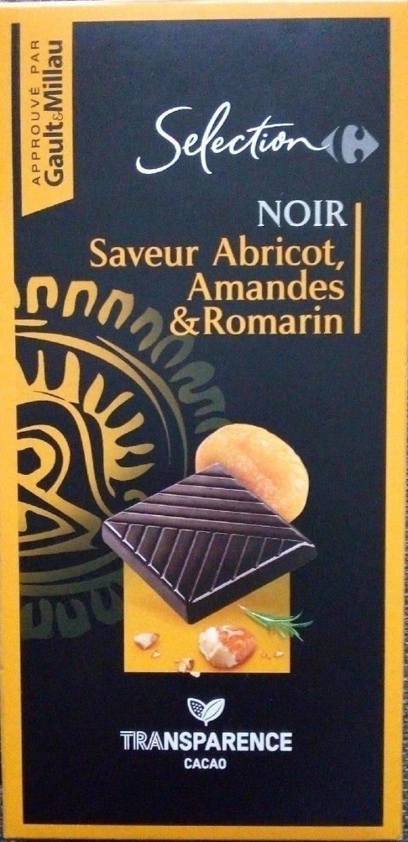 NOIR Saveur Abricot, Amandes & Romarin - Produit - fr