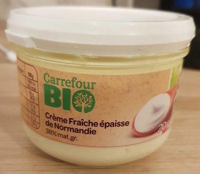 Crème fraiche épaisse de Normandie - Produit - fr