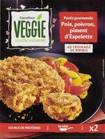 Panés gourmands Pois, poivron, piment d'Espelette - Prodotto - fr
