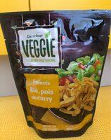 Emincés blé, pois au curry - Producto - fr