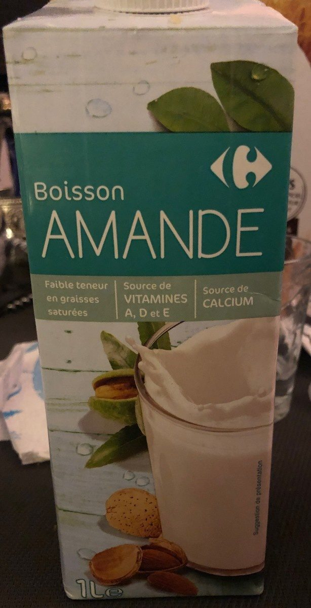 Boisson amande - Product - fr