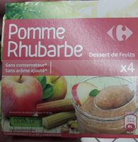 Pomme rhubarbe - Product - fr