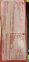 Pomme rhubarbe - Nutrition facts - fr