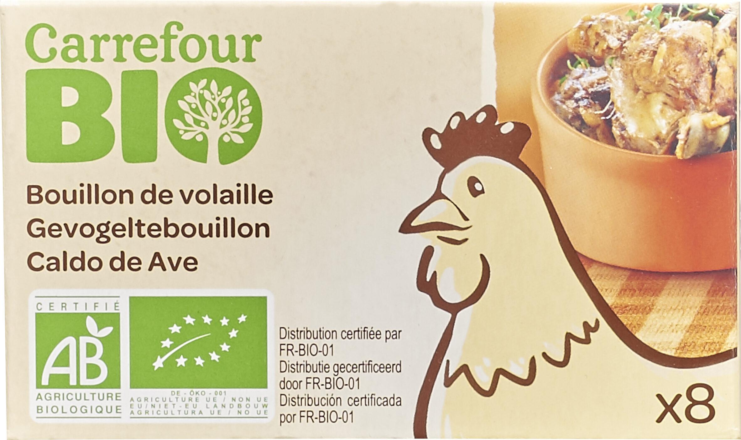 Bouillon cube de volaille bio - Produit - fr