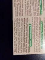 Bouillon cube de volaille bio - Informations nutritionnelles - fr