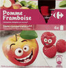Compotes pommes framboises - Product