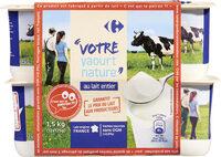 Votre yaourt nature - Produit - fr