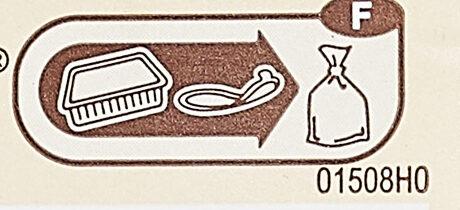 Tortellini légumes grillés - Recyclinginstructies en / of verpakkingsinformatie - fr