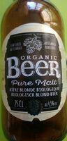 Organic beer , bière blonde bio pure malt - Product - fr