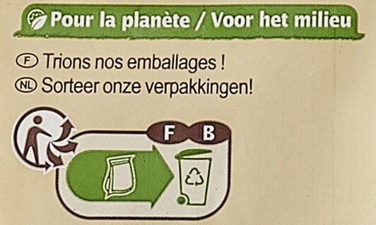 Flocons d'avoine - Istruzioni per il riciclaggio e/o informazioni sull'imballaggio - fr