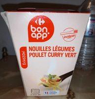 Nouilles Légumes Poulet Curry Vert - Produit