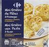 Mini gratins de pâtes 3 fromages - Product