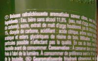 Yours bière sans alcool saveur citron - Ingrediënten